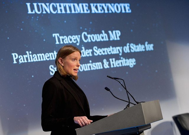MP Tracey Crouch.  (Photo by Eamonn M. McCormack/Getty Images for Beyond Sport)
