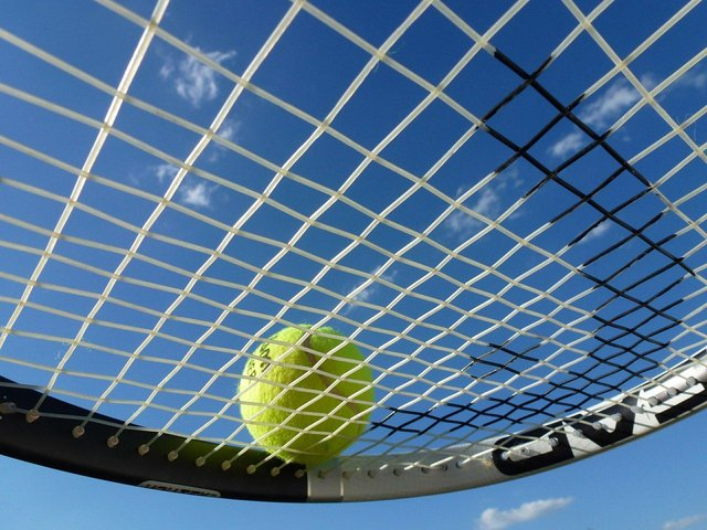 Tennis fans can try their hand at the game themselves at a special open day