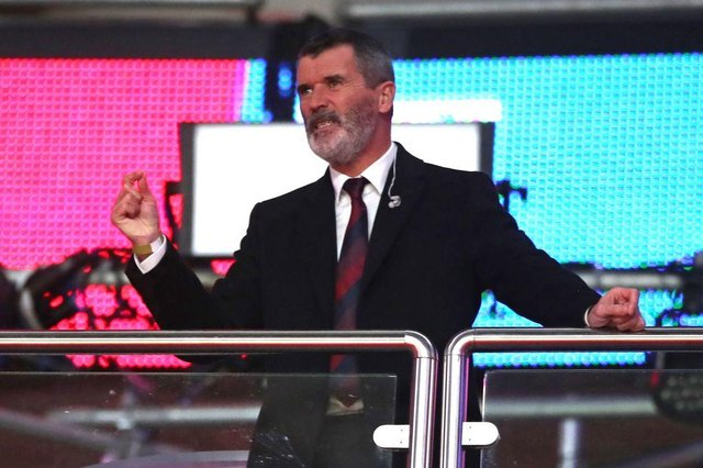 Former Manchester United captain Roy Keane. (Photo by NICK POTTS/POOL/AFP via Getty Images)