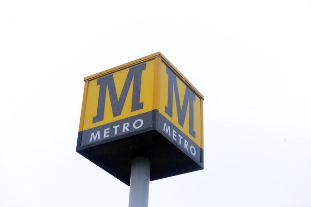 A failed train at Jarrow Metro station has caused delays to the service.