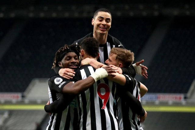 Is this Newcastle United's current strongest starting XI? (Photo by Scott Heppell - Pool/Getty Images)
