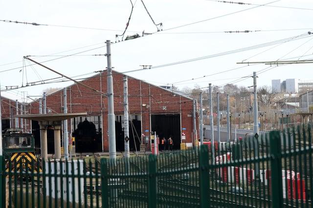 The Gosforth Metro depot