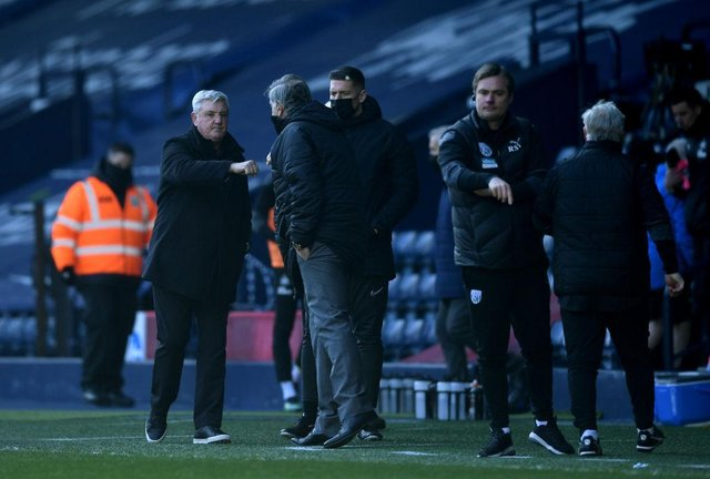 Sam Allardyce has defended the job Steve Bruce has carried put at Newcastle United. (Photo by Gareth Copley/Getty Images)