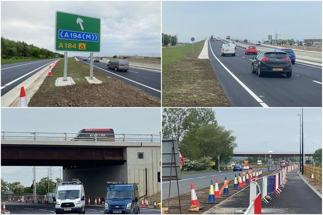 The new Testo's fly-over is open