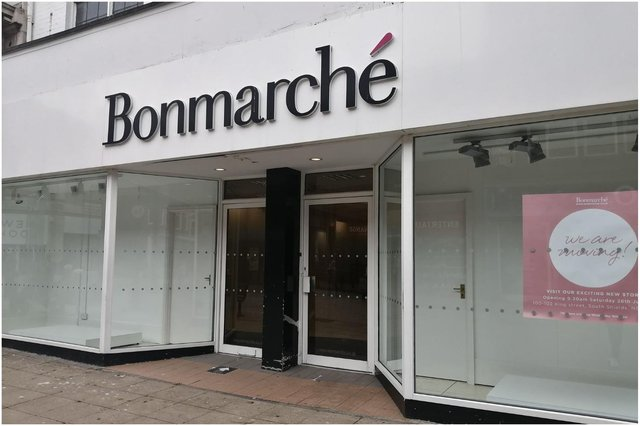 The Bonmarché store on King Street, South Shields, is moving to a new premises in the town centre.