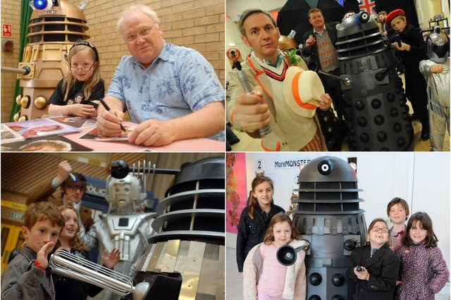 We have 9 great South Tyneside reminders of how much the borough loves the doctor. Have a browse through and then get in touch to tell us more.