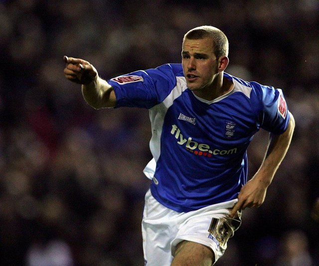 Rowan Vine worked under Steve Bruce at Birmingham City in 2007. (Photo by Phil Cole/Getty Images)