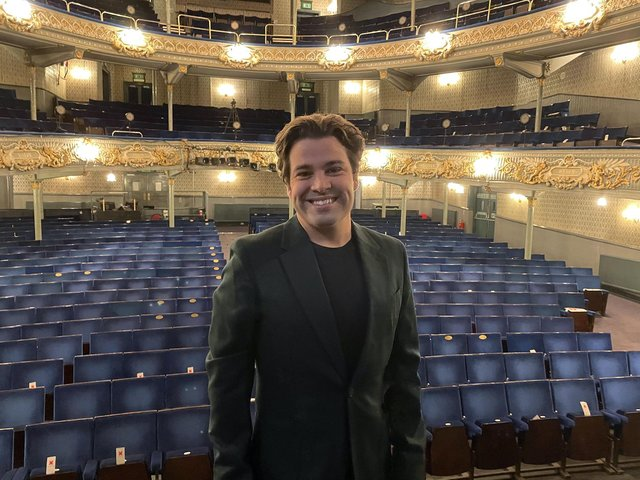 Joe McElderry at the Tyne Theatre and Opera House.