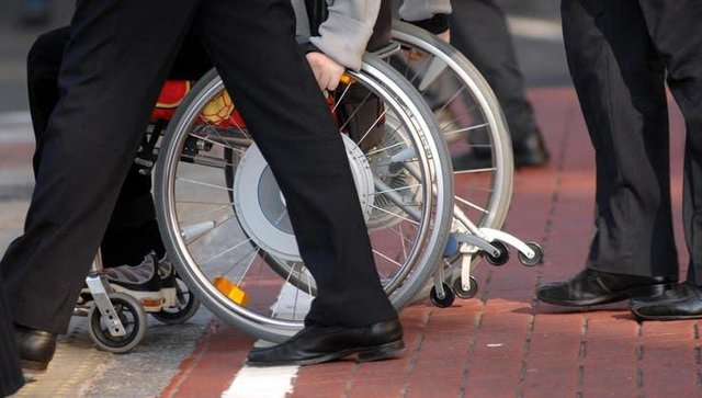 Disability support cash row