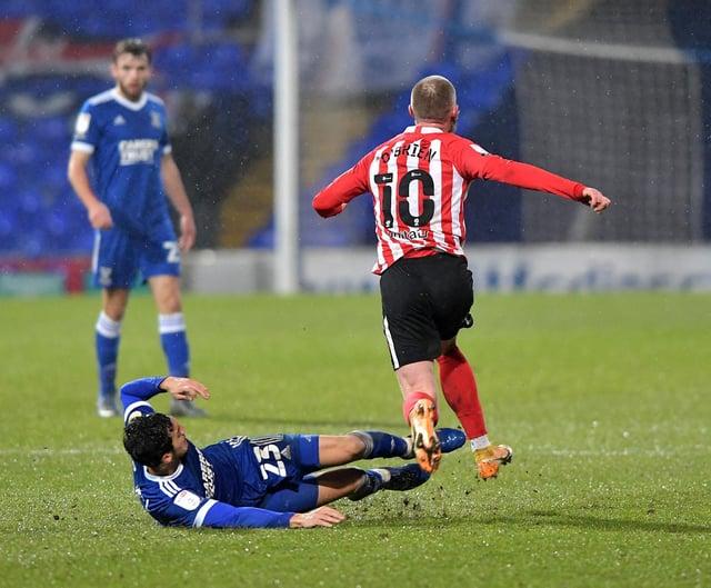 Sunderland forward Aiden O'Brien