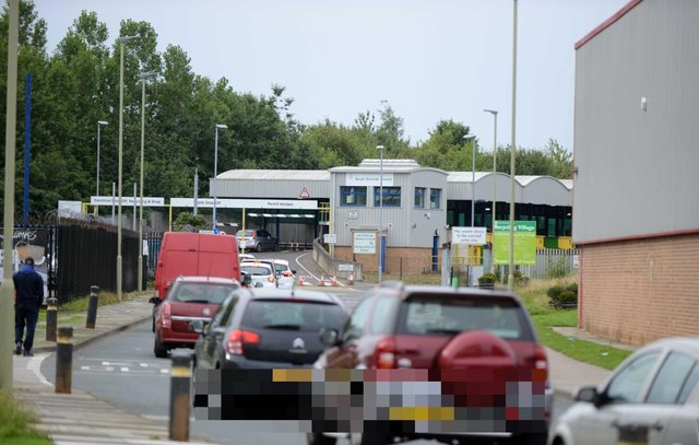 Pictured is the queue for the tip when it first reopened during the first national lockdown. South Tyneside Council has issued a warning that anyone abusive to staff at the recycling village will face being asked to leave and reported to the police following a number of incidents at the site.
