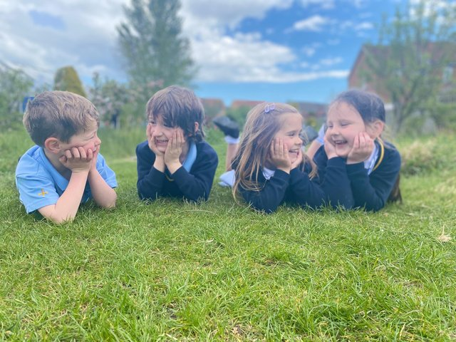 Pupils at St Aloysius Catholic Infant and Junior School are thrilled their place of learning has been named school of the year