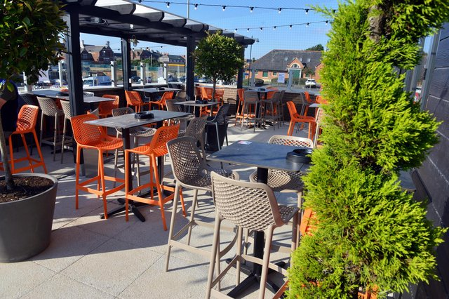 The Wouldhave reopened on April 12 with outdoor seating