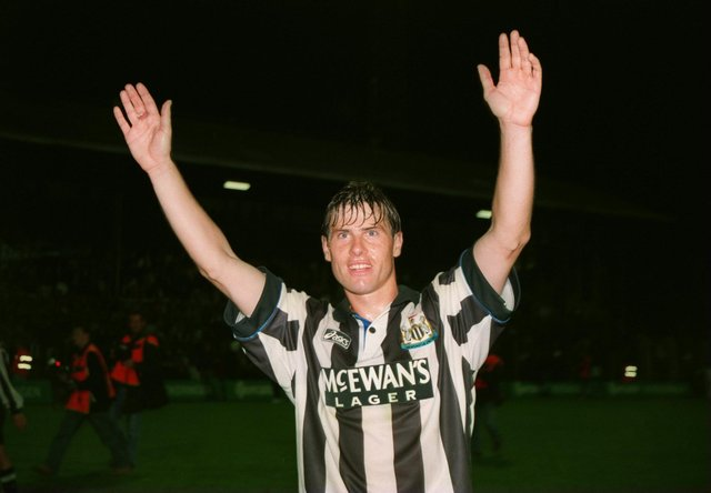 Newcastle United legend Rob Lee.