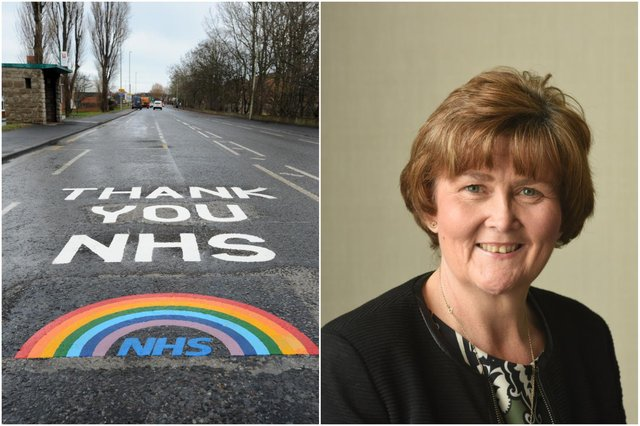 CounTracey Dixonhopes the rainbow roads will be a morale boost for staff