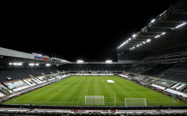 St James's Park, the home of Newcastle United.. (Photo by Scott Heppell - Pool/Getty Images)