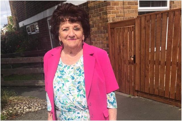 June Coser has spent 14 years raising funds for the Alzheimer's Society.