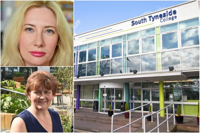 South Shields MP Emma Lewell-Buck and South Tyneside Council leader Councillor Tracey Dixon back the plans to seek funding to support the South Tyneside College move from the Government's Levelling Up funds.
