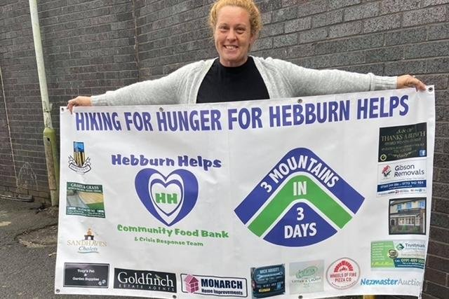 Angie Comerford, co-founder of the Hebburn Helps food bank and community centre.