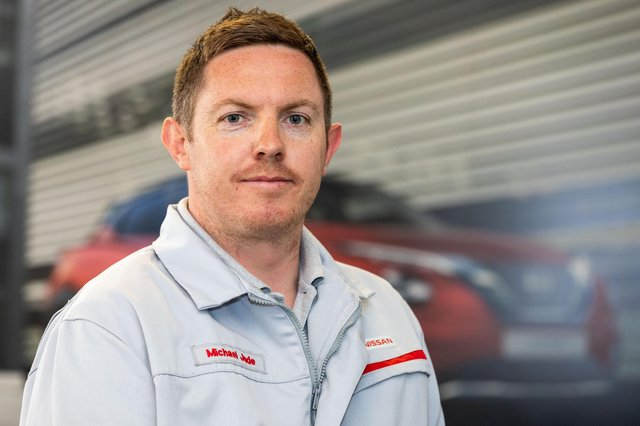 Michael Jude is the youngest ever director at Sunderland's Nissan plant