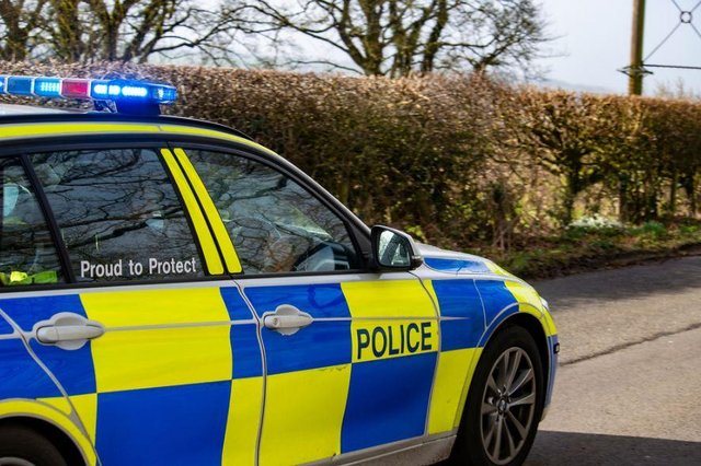 A man has been arrested following a police chase
