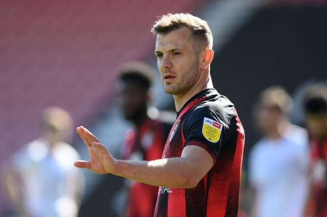 Newcastle United have been urged to consider signing former Arsenal midfielder Jack Wilshere. (Photo by Mike Hewitt/Getty Images)