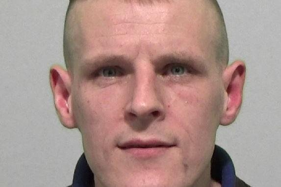 Christopher Dean Sharp has been jailed for 18 weeks.
