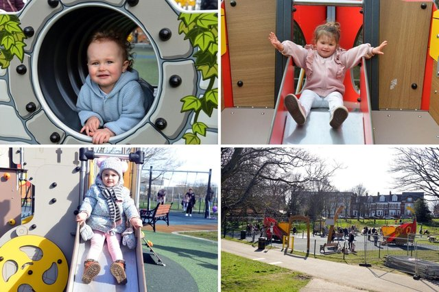 Families have been enjoying the new play park