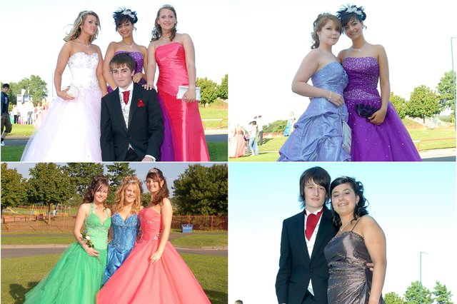Take a look at our collection of Harton prom photos from 13 years ago.