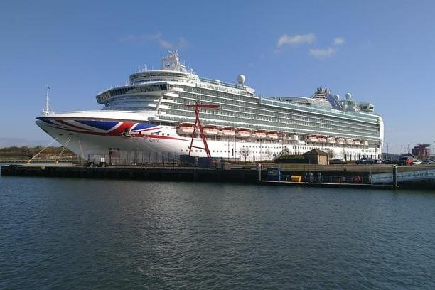 The Azura will be leaving us soon, after six months forming part of our skyline