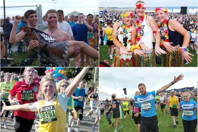Is there a Great North runner that you recognise?