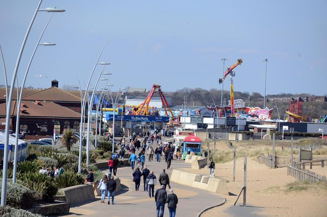 Out and about at South Shields seafront following easing of restrictions