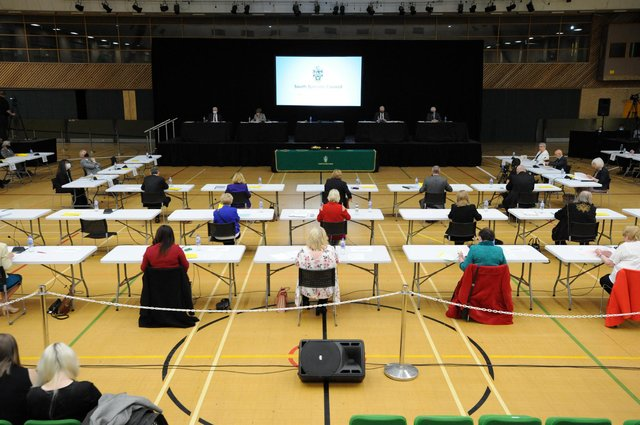 South Tyneside Council meeting of full council held at Temple Park Centre, South Shields. (Picture: South Tyneside Council)