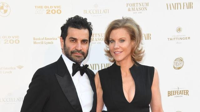 Mehrdad Ghodoussi and wife Amanda Staveley, both directors of PCP Capital Partners.