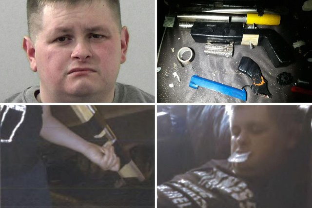 Pictures issued by Northumbria Police