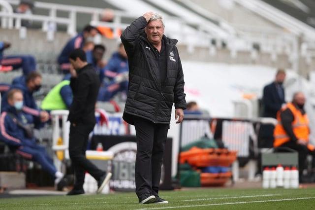 Newcastle United head coach Steve Bruce.(Photo by MOLLY DARLINGTON/POOL/AFP via Getty Images)