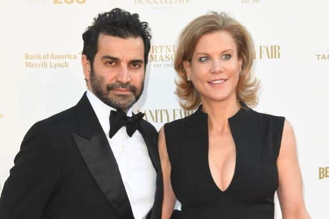 Mehrdad Ghodoussi with wife Amanda Staveley.