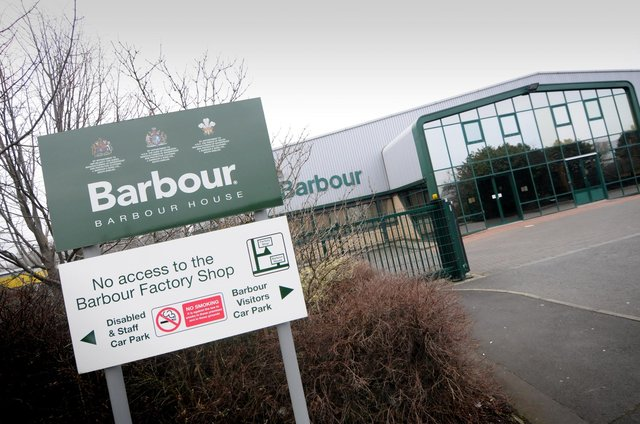 The Barbour factory.