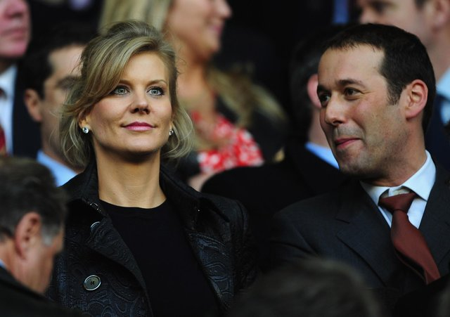 LIVERPOOL, UNITED KINGDOM - APRIL 22:  Chief Negotiator of Dubai International Capital Amanda Staveley looks on prior to the UEFA Champions League Semi Final, first leg match between Liverpool and Chelsea at Anfield on April 22, 2008 in Liverpool, England.  (Photo by Shaun Botterill/Getty Images)