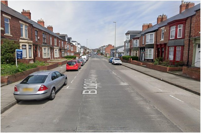 A home on Stanhope Road, South Shields, was targeted by a thief who stole a plant pot from the garden. Image by Google Maps.