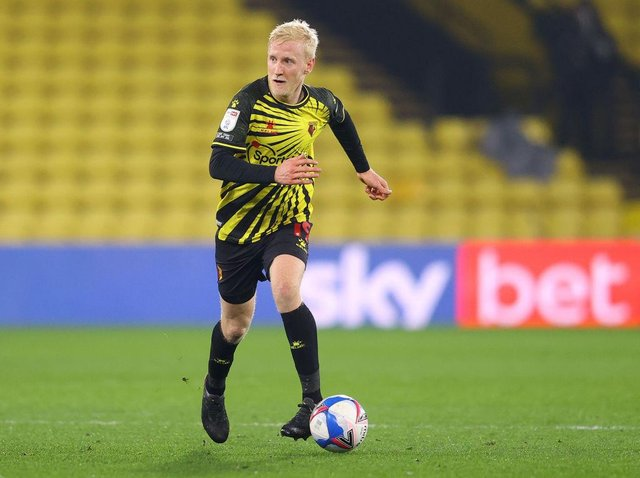 Watford midfielder Will Hughes is not a transfer target for Newcastle United. (Photo by Richard Heathcote/Getty Images)