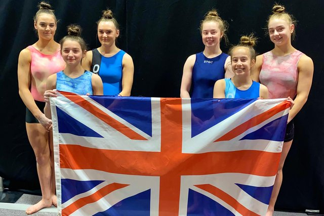 The young gymnasts are looking forward to representing their country on the world stage