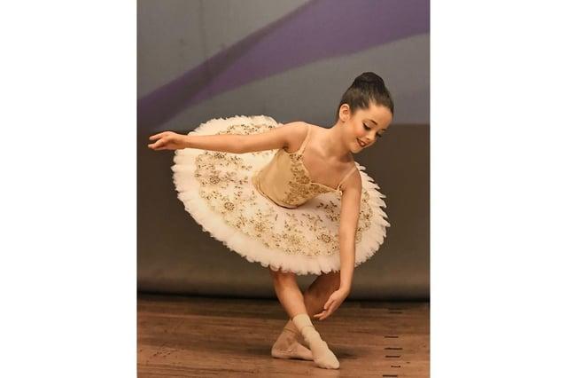 Rose Blair has landed a scholarship at a top ballet school