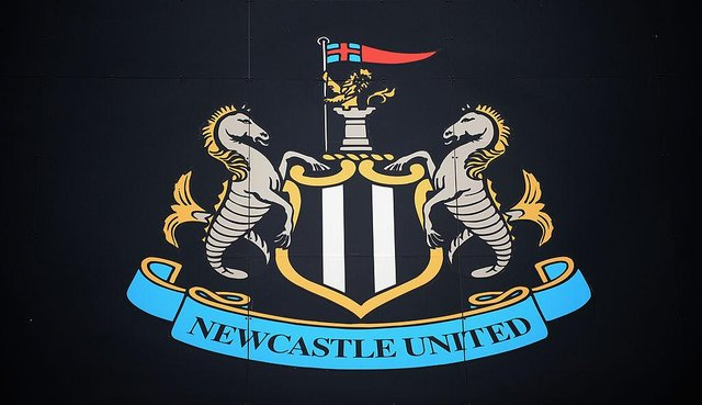 Newcastle United club badge.(Photo by Tony Marshall/Getty Images)