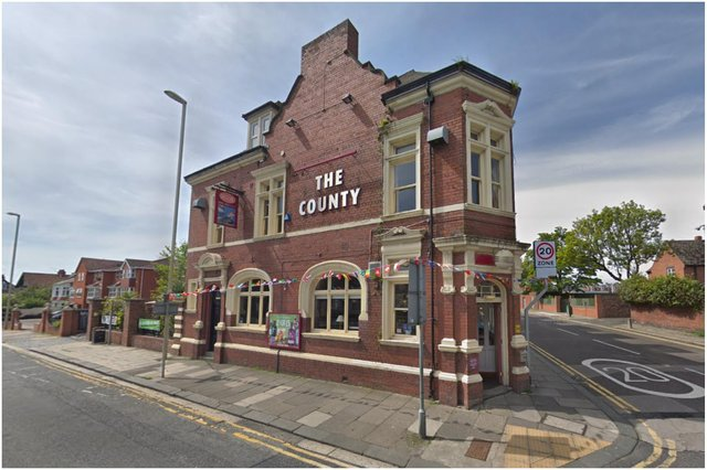 The County on Sunderland Road has had to close while staff self-isolate. Image by Google Maps.