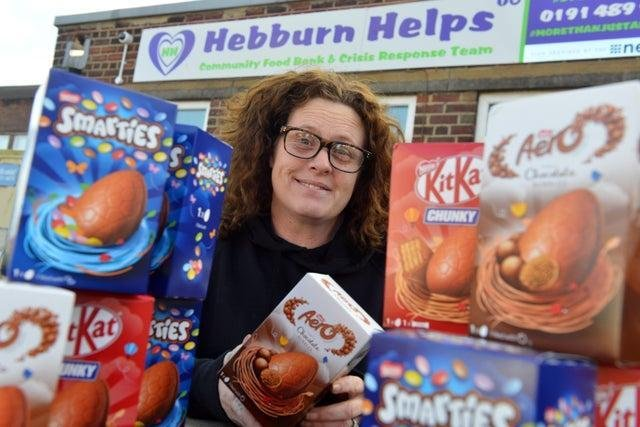 Hebburn Helps co-founder, Angie Comeford