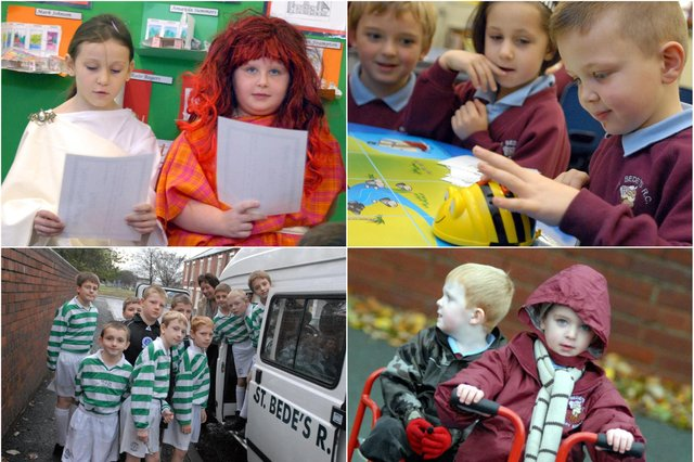 10 St Bede's photos from 2007 for you to enjoy. Join us for a look back in time.