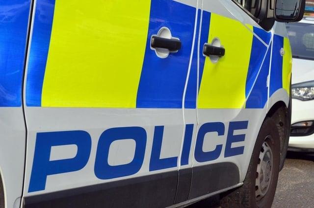 Northumbria Police vehicle