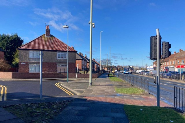A police cordon has been removed from a section of Prince Edward Road which connects to Gorse Avenue in South Shields.