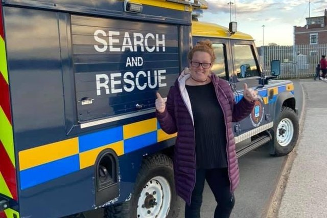 Angie Comerford from Hebburn Helps is looking to raise at least £1,000 for the South Tyneside Volunteer Life Brigade organisation through the marathon effort.